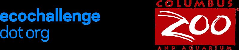 ecochallenge.org logo, Columbus Zoo and Aquarium logo
